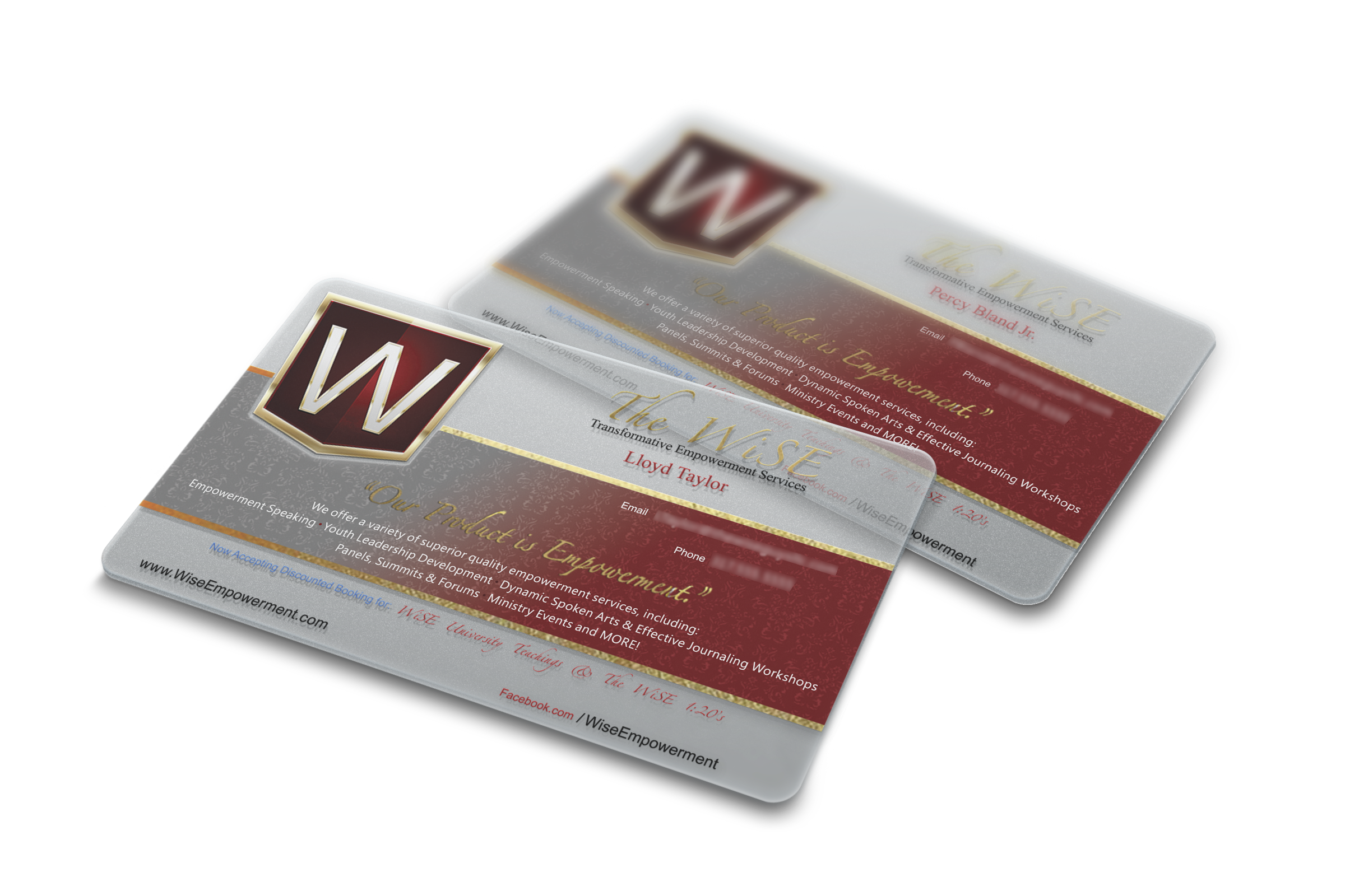 Lori, The DesignerTranslucent/Gold Foil Business Card - Lori, The ...