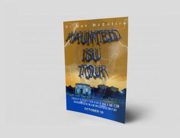 Haunted University TourFlyer